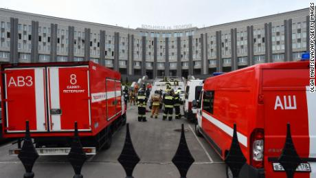 Reports of ventilators catching fire at an intensive care unit at the St. George Hospital in St. Petersburg in May added to doubts over how the Kremlin was handling the pandemic.
