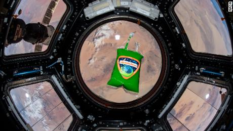 Astronauts experimented with Nickelodeon's slime in space