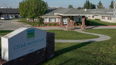 An employee filed a worker safety complaint in March about Cedar Mountain Post Acute nursing facility, which has now reported that nearly 80 residents have tested positive for Covid-19.