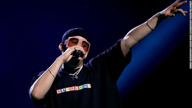 Bad Bunny tested positive for Covid-19 and had to skip AMA performance