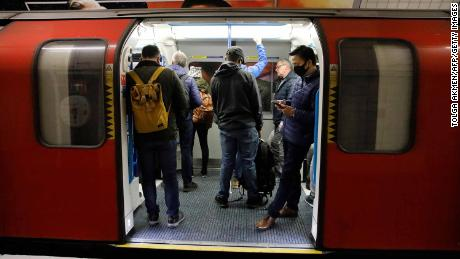 Packed London Tube trains are the latest symbol of the UK's confused coronavirus response