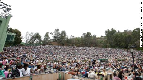 A summer crowd at the Hollywood Bowl in 2016 (Photo by Mathew Imaging/WireImage)