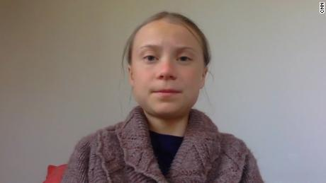Greta Thunberg urges public to listen to the experts