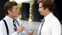 """Fred Willard and Will Ferrell in """"Anchorman: The Legend of Ron Burgundy."""""""
