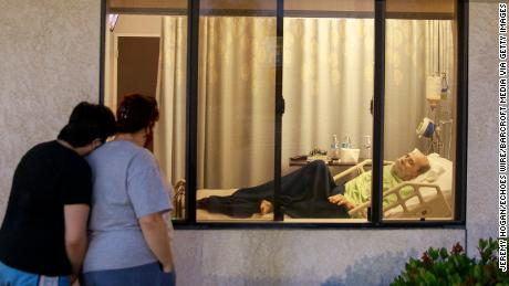 Trump administration says coronavirus testing is key to nursing homes reopening