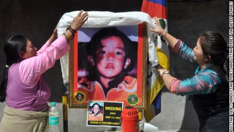 A boy chosen as the Panchen Lama disappeared in 1995. China says he's now a college grad with a job