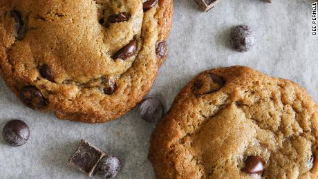 Pernell's vegan cookies have a decadent balance of sugar and fat.