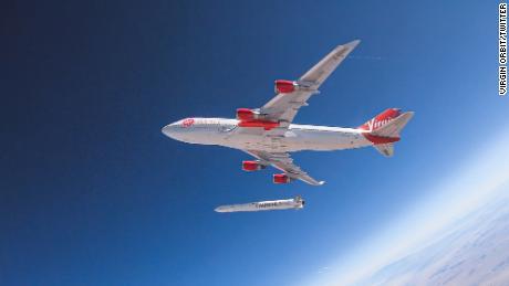 Richard Branson's satellite-launching company Virgin Orbit to go public