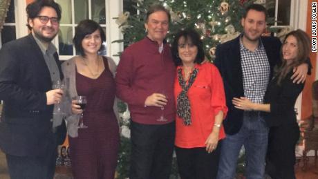 The Foglia family in 2016 -- from left, Lou Foglia, Aimeé deSimone, Philip F. Foglia, Jacqueline Foglia, Philip L. Foglia, and Shana Foglia.