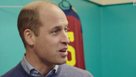Prince William says his weak eyesight helped him overcome anxiety
