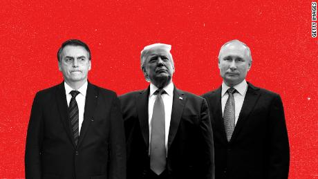 Trump, Putin and Bolsonaro find their populist playbooks are no match for coronavirus
