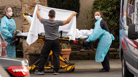 A quarter of US nursing homes report at least one coronavirus infection, first official tally shows