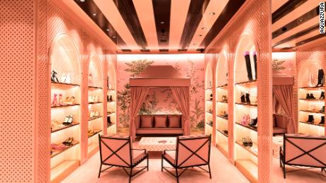 "An Aquazzura store in Sao Paulo, Brazil. ""I've always believed in brick-and-mortar retail,"" said Edgardo Osorio, founder of the Italian shoe brand. ""You need these boutiques, these flagships or these physical showrooms in the major locations around the world."""