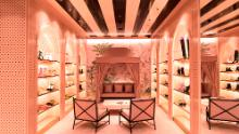 """An Aquazzura store in Sao Paulo, Brazil. """"I've always believed in brick-and-mortar retail,"""" said Edgardo Osorio, founder of the Italian shoe brand. """"You need these boutiques, these flagships or these physical showrooms in the major locations around the world."""""""