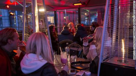 Unlike in other European capitals, which went into strict lockdown, many bars remained open in Stochkhom