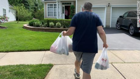 For the last two months, Greg Dailey has been a lifeline for 120 senior citizens who live on his newspaper route.