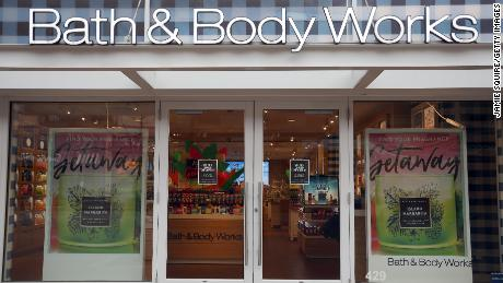 A closed sign is seen in the doorway of the Bath and Body Works store at Country Club Plaza on April 02, 2020 in Kansas City, Missouri.