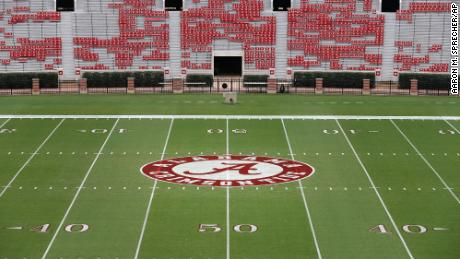 Players from the University of Alabama's football team have tested positive for Covid-19 according to reports