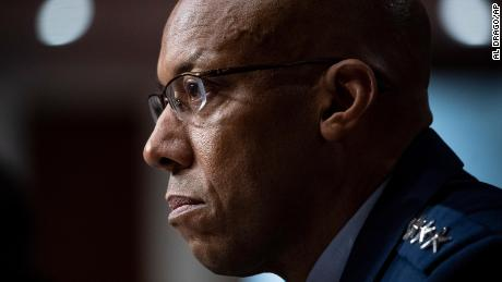 First black service chief in US military history confirmed by Senate
