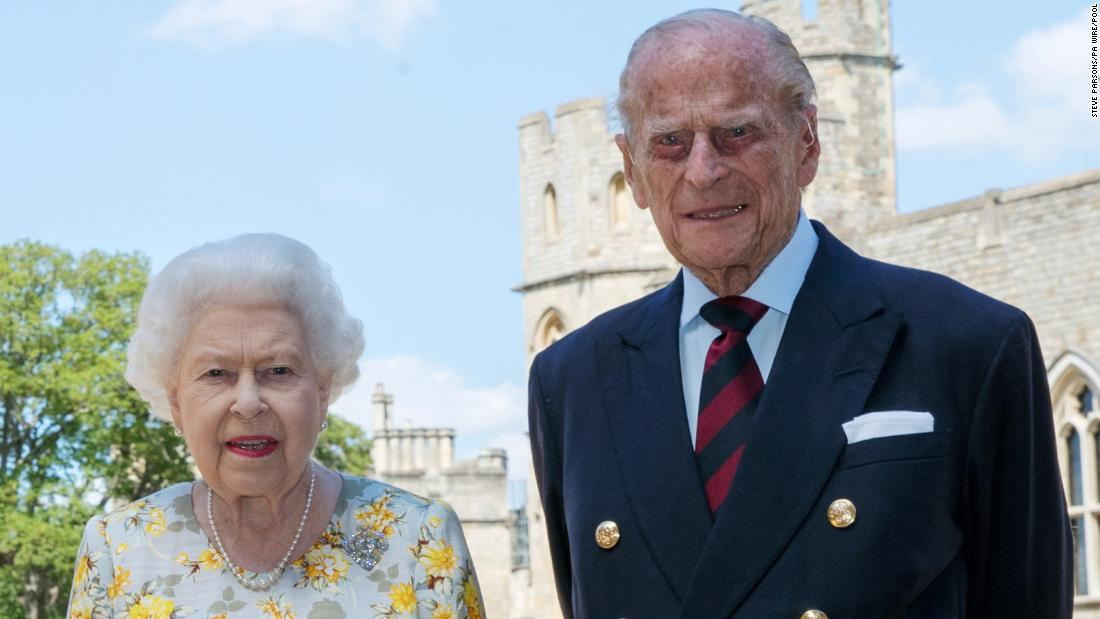 The Queen and Prince Philip pose for a photo in June 2020, ahead of Philip's 99th birthday.