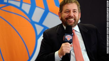 New York Knicks owner James Dolan sent an internal email to employees explaining why the organization had not issued a public statement, before yesterday making a U-turn when there was backlash against this stance.