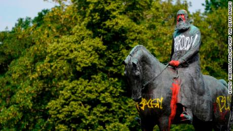 King Leopold II statues are being removed in Belgium. Who was he?