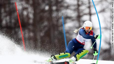 The 35-year-old is hoping past experiences will give her a chance of competing at the 2022 Winter Paralympics in Beijing