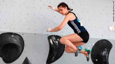 French Olympic hopeful climber Luce Douady, 16, dies after cliff fall