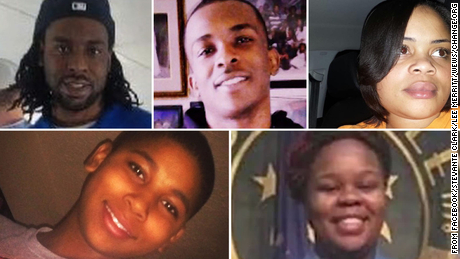These are the ordinary things they were doing when they were killed by police