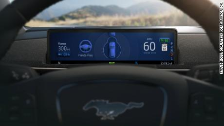 Driver's will be alerted about the status of the Active Drive Assist system through the SUV's gauge screen.