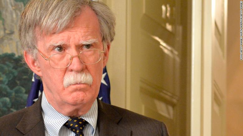 John Bolton fires back at Trump effort to block memoir's publication