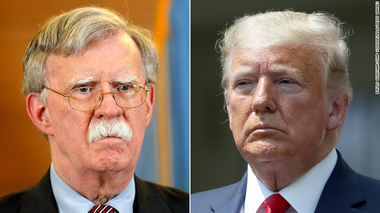 Ex-aide Bolton says Trump unfit for office