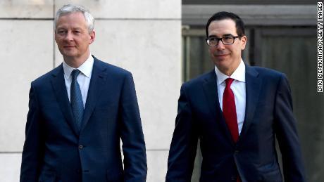Transatlantic trade fight looms as US blows up talks on taxing big tech