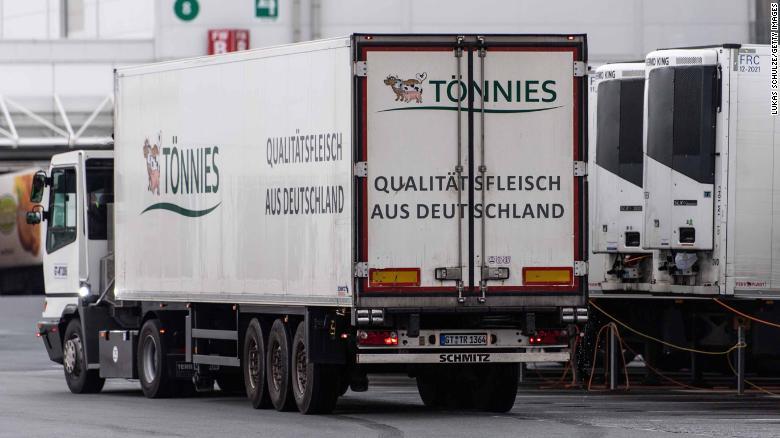 People Test Coronavirus Positive in German Meat Plant