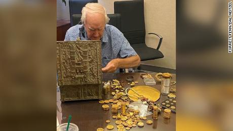 Forrest Fenn finally shared photos of his discovered treasure amid doubts that it was actually found