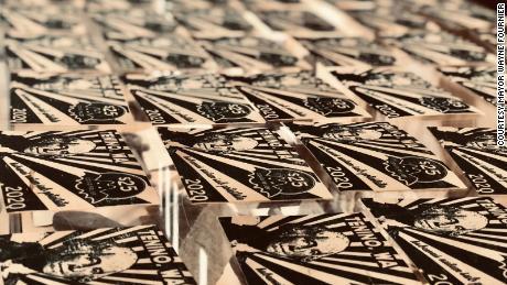 The $25 currency in Tenino, Washington is made of wood veneer