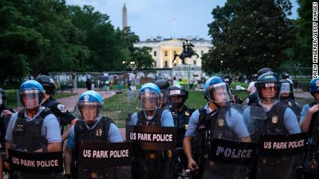 DC National Guard to provide unarmed security for monuments in DC