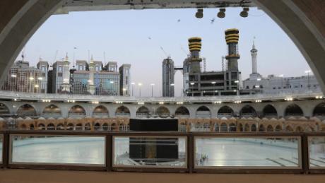 hajj pilgrimage saudi arabia coronavirus covid 19 pandemic kiley intl ldn vpx_00015728