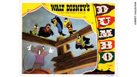 """""""Dumbo,"""" the animated Disney movie, featured a slick-talking bird character named Jim Crow."""