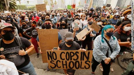 A movement to push police out of schools is growing nationwide. Here is why