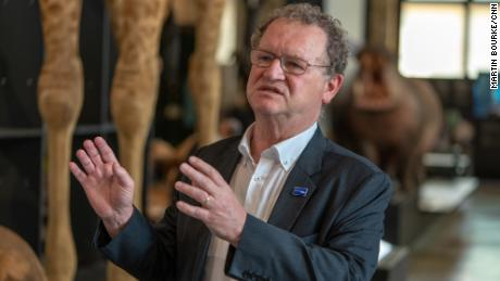 Guido Gryseels, director of the Royal Museum for Central Africa, says Belgium is suffering from a history deficit, because the country's colonial past is not taught in schools.