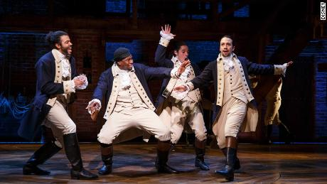 The movie version of the Broadway musical 'Hamilton' will debut Friday on Disney+.