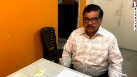 Madhav Damle runs a seniors dating agency in Pune, Maharashtra