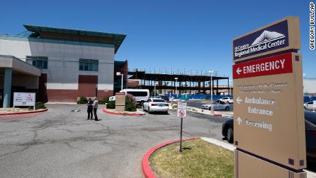 The El Centro Regional Medical Center is shown Wednesday, May 20, 2020, in El Centro, Calif.