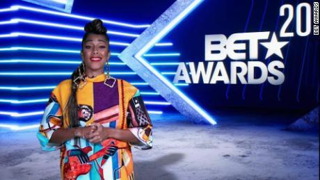 Amanda Seales hosted the 2020 BET Awards