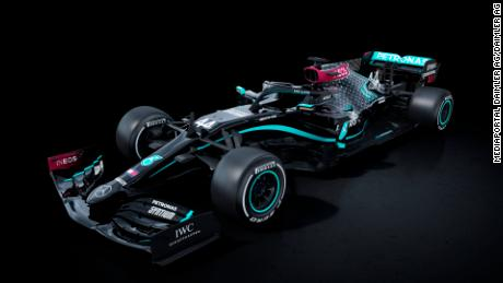 The Silver Arrows are returning to racing in a new all-black paint job.