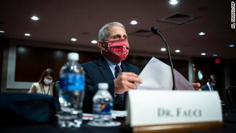 Fauci warns Congress that new US coronavirus cases could rise to 100,000 a day