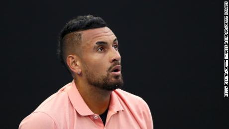 Nick Kyrgios says players isolating shouldn't really be complaining.
