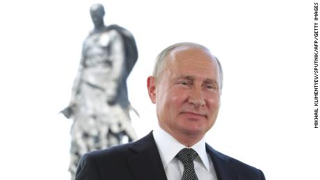 Putin addresses the nation on the eve of the main day of voting.