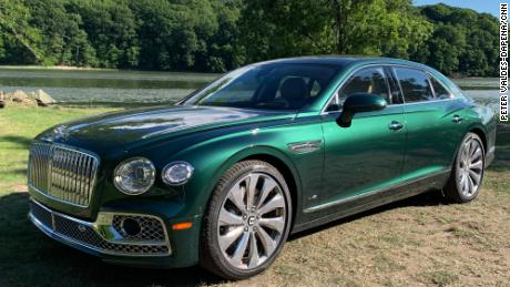 The new Bentley Flying Spur is now the brand's flagship car.